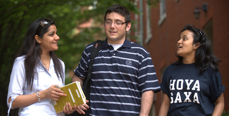 Three Georgetown Students